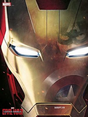 Captain America: Civil War Poster - Iron Man
