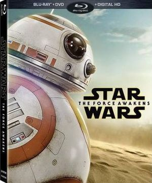 Star Wars: The Force Awakens Box Art and Special Features List