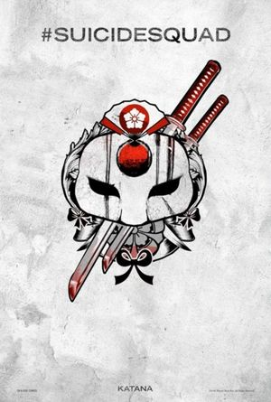 Harley Quinn's Tattoo Parlor Poster - Katana