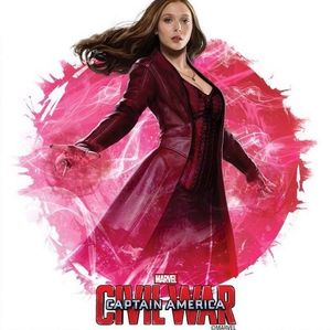 Captain America: Civil War Poster - Scarlet Witch
