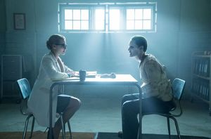 Margot Robbie and Jared Leto in Suicide Squad