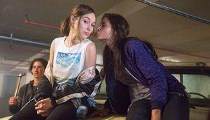 Alycia Debnam Carey and Mercedes Mason