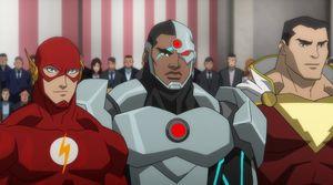 Flash and Cyborg team-up in Flash film