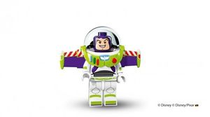 Buzz Lightyear in Lego form