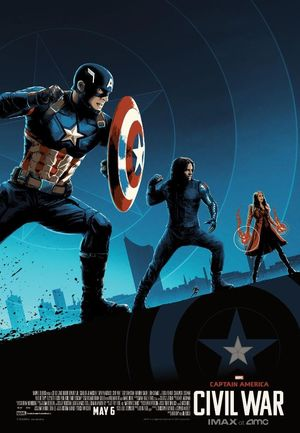 Captain America at the forefront in new IMAX poster