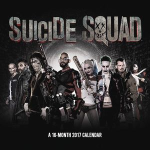 Suicide Squad calendar to be released on July 15, 2016