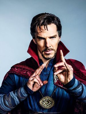 New Image of Doctor Strange; First Footage Debuting on Jimmy