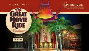 "'The Great Movie Ride' Presented by TCM ""The Ultimate Celebr"
