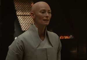 Tilda Swinton as the Ancient One