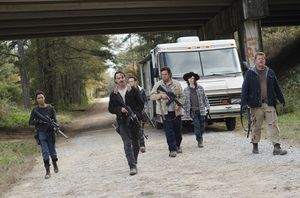 Rick (Andrew Lincoln) and his crew, 6x16