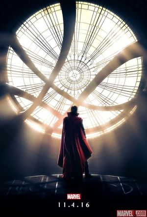 Doctor Strange Poster presents the Sanctum Sanctorum. Traile