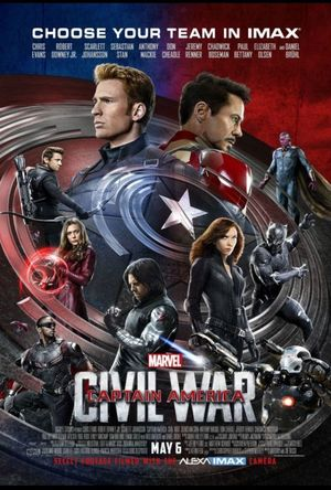 IMAX poster for Captain America: Civil War