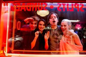 First image from the set of The CW's 'Riverdale'