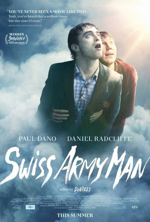 Official poster for Swiss Army Man features a soaring Paul D