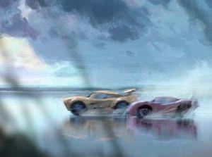 Pixar announced the new sleek car will be named Cruz Ramirez