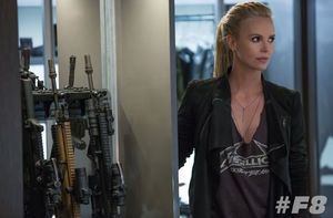 First official look at Charlize Theron in the next Fast and