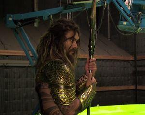 New shot of Jason Momoa as Aquaman