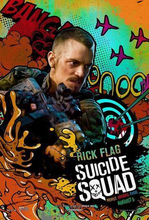 Rick Flag character poster