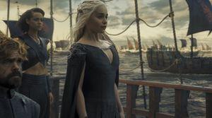 Daenerys sets course for Westeros, S6E10
