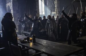 Lords rally for the king in the north, S6E10