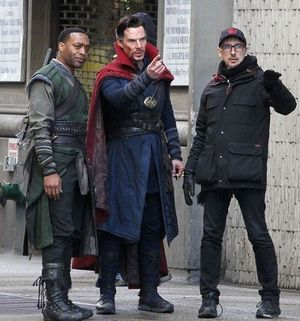 Director Scott Derrickson shares a new image from the set of