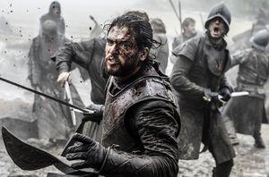 """Kit Harington as Jon Snow in """"The Battle of the Bastards"""""""