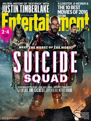 EW cover (2 of 4): Enchantress, Deadshot and Rick Flag