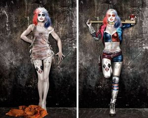 Concept art reveals what Harley Quinn may have looked like i