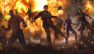 Check out the Guardians in new concept art from 'Guardians o