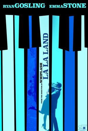 La La Land Poster. Ryan Gosling, Emma Stone