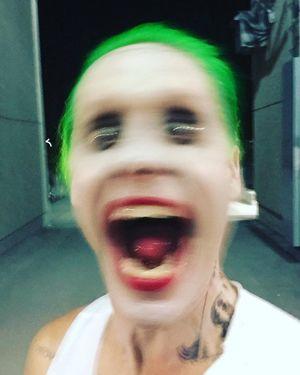 Jared Leto posts a terrifying Joker selfie to Twitter