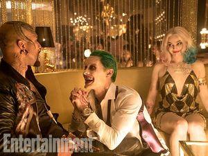 Monster T (Common), Joker (Jared Leto) and Harley Quinn (Margot Robbie)
