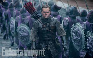 Matt Damon in Great Wall