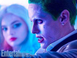 Harley Quinn (Margot Robbie) and Joker (Jared Leto)