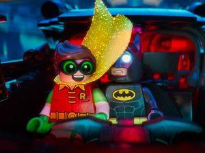 Batman and Robin in The Lego Batman Movie