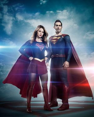 First look at Tyler Hoechlin as Superman