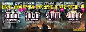 "All 4 EW ""Suicide Squad"" covers"