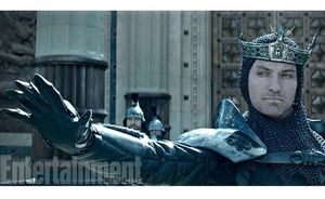 Jude Law as Vortigern in Guy Ritchie's King Arthur: Legend o
