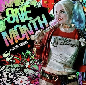 New poster featuring Harley Quinn begins the countdown