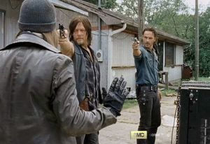 Jesus meets Rick and Daryl, Season 6