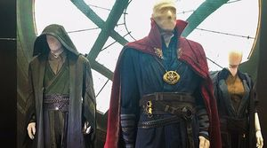 Here's a close-up of the Doctor Strange costumes courtesy of