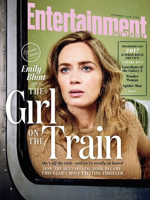 """The Girl on the Train"" Entertainment Weekly Cover"