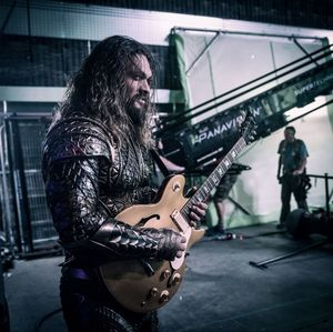 New image of Jason Momoa as Aquaman from the set of 'Justice