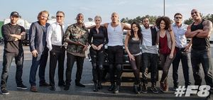 New image from the set of Fast 8, first trailer coming in De