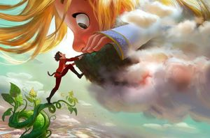 Disney twisting the classic tale of 'Jack in the Beanstalk'
