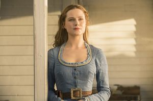 Evan Rachel Wood as Dolores Abernathy