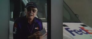 Stan Lee has shot three Marvel cameo's already.