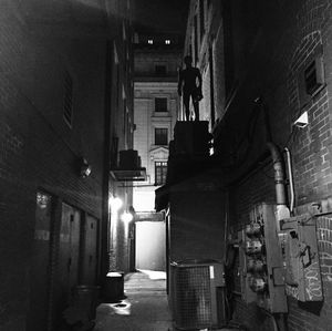 New shadowy shot of Tom Holland's Spider-Man from the set of