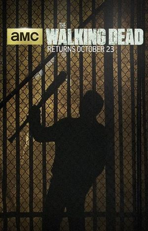 Madness comes in many forms in the new Walking Dead poster