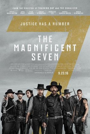 Brand new poster for The Magnificent Seven